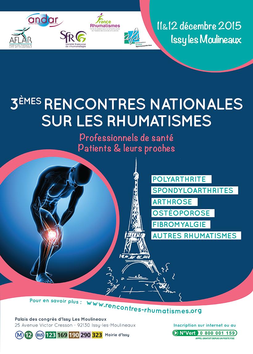 Rencontres nationales rhumatismes